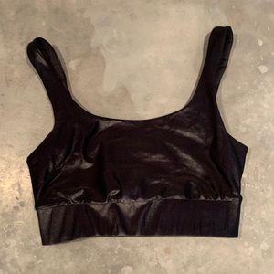 Show Me Your Mumu Sheen Bra / Workout Top 🖤🖤🖤
